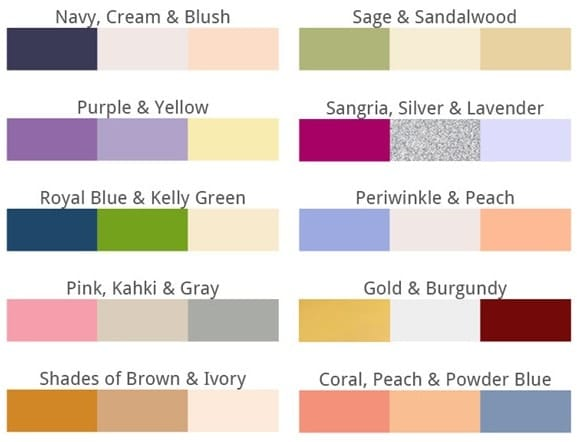 Top 10 Colors for 2015